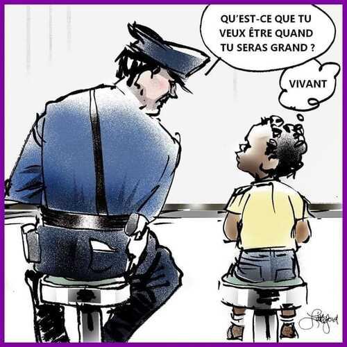 Enfant, Georges Floyd aurait pu répondre ceci à un policier