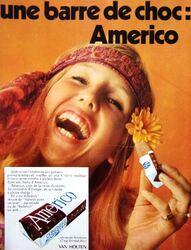1974 : Pub pour Américo / INEDIT !