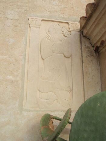 St Fançois d'Assise, le loup de Gubio, et les oiseaux