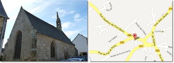 Chapelle de Sainte-Barbe  - Plouare t-