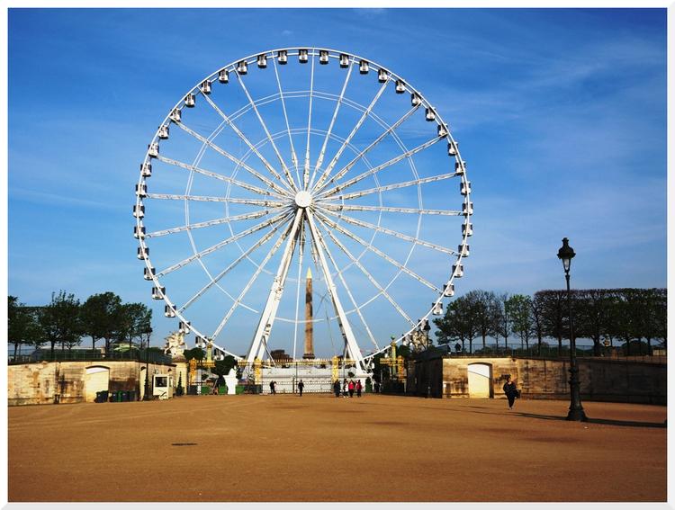 La Grande Roue. Place de la Concorde.