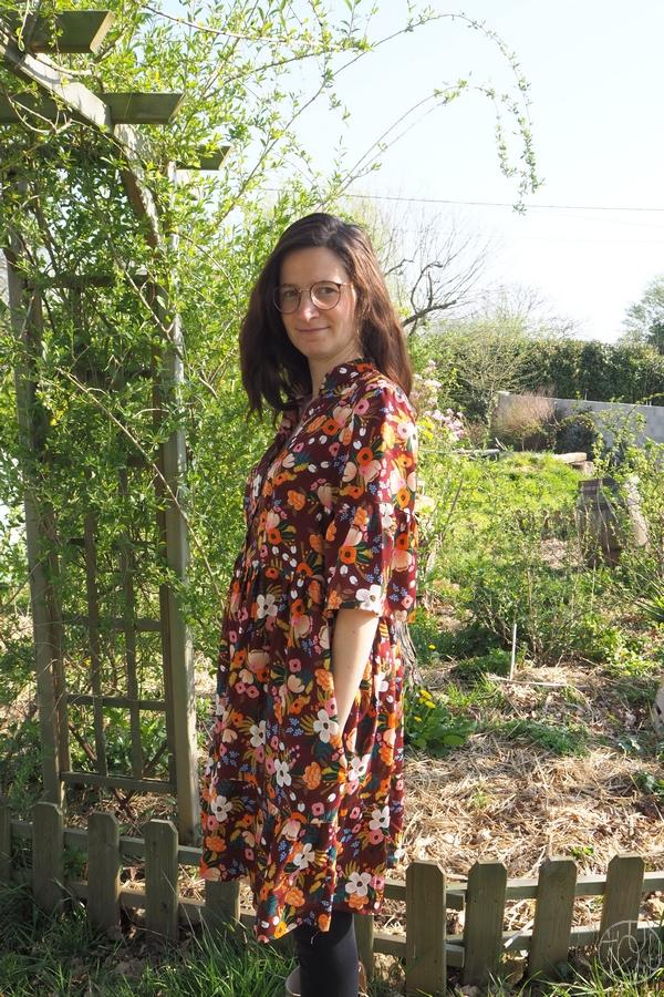 Ma robe DD fleurie