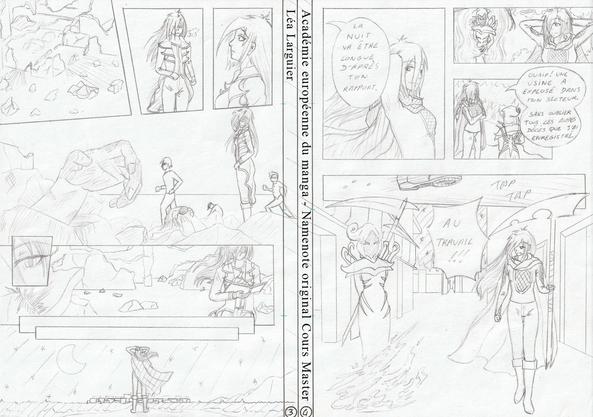 Académie Européenne du Manga : Namenote cours Master