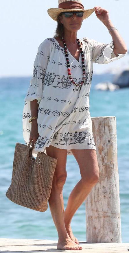Caroline à Saint Tropez