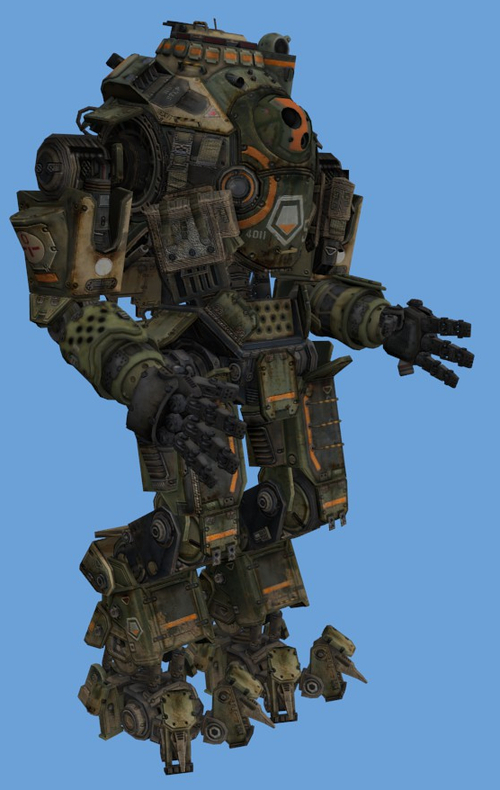 La nouvelle pose du robot