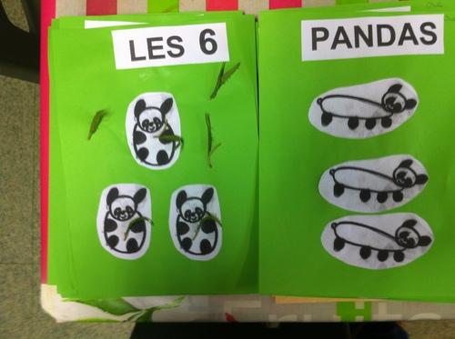 Décomposition du 6 pour l'album à calculer avec les pandas
