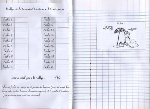 Lire et écrire avec Léo et Léa