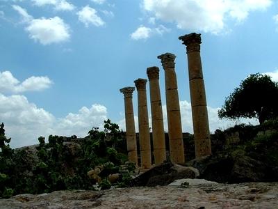 JORDANIE : GADARA - ville gréco-romaine