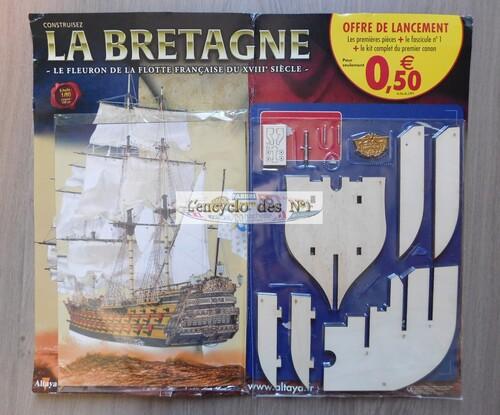 N° 1 Construisez le bateau la Bretagne - Lancement
