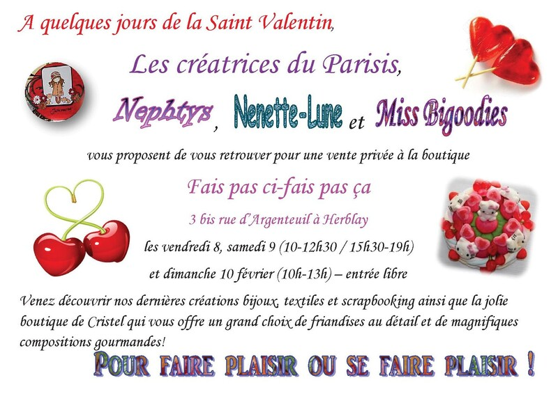 Expo Saint Valentin !