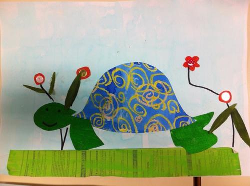 Nos tortues inspirées de N. Bohn