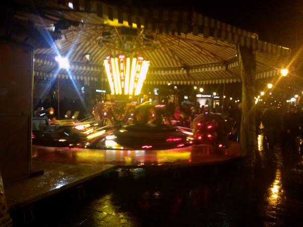 Paris sous la pluie et la nuit