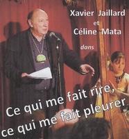 Xavier Jaillard et Céline Mata