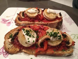 Bruschetta de Mr Seguin !