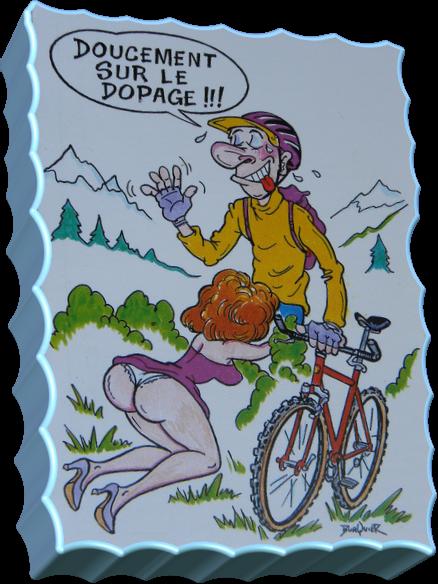 Dopage!!! (Humour)