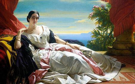 File:Franz Xaver Winterhalter Leonilla Princess of Sayn Wittgenstein Sayn.jpg