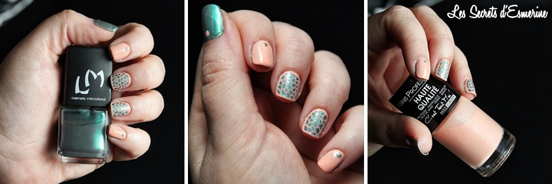 maui, corail, lm cosmetic, miss europe, nail art