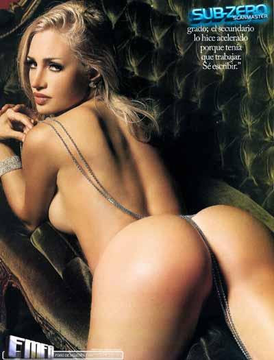 Belen Francese nue et sexy playmate
