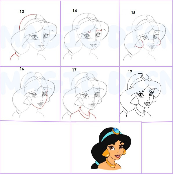 23 d cembre magic disney princesses - Dessiner des princesses ...
