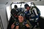 Tandem Skydive Jump, UAE 2007