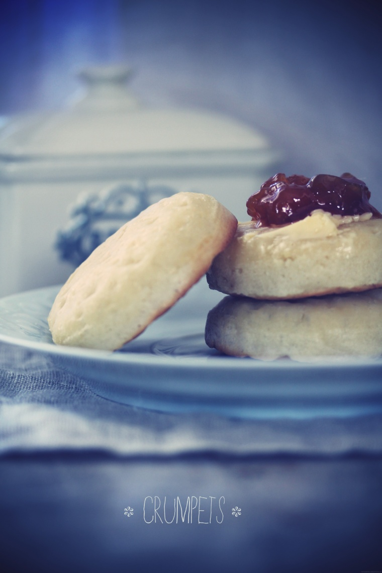 Crumpets {Et un article So British' !}
