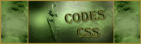 Codes CSS