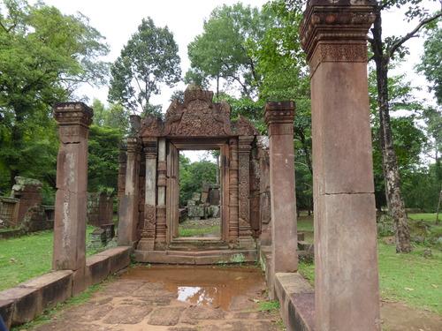 J15, temple de Banteay Srei,Cambodge
