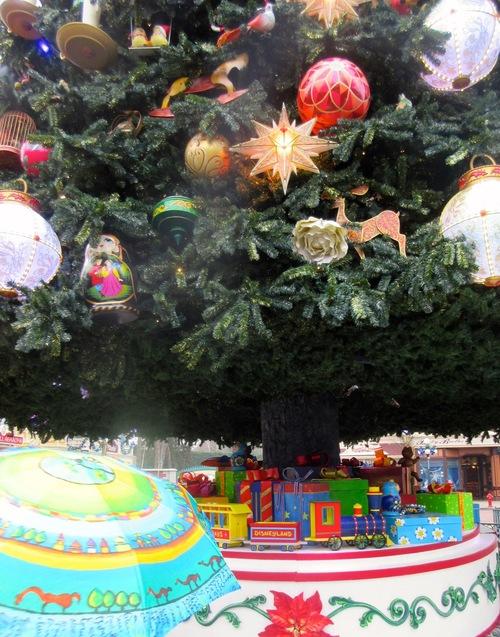 Belles ombrelles de Noël
