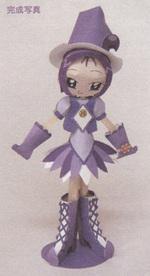 Figurine de Loulou en papier