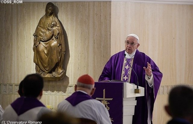 Les trois attitudes de l'Avent, par le pape François - Zenit