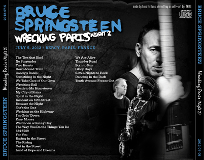 La Saga de Springsteen - épisode 38 - Wrecking Ball