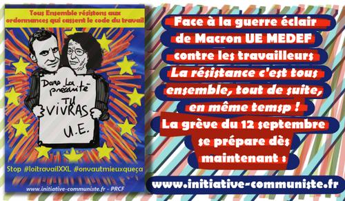 Mobilisation contre les ordonnances Macron : construire le tous ensemble ! (IC.fr-22/07/2017)
