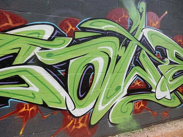 Street art au campus de la VUB