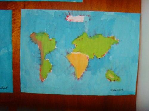 Nos planisphères