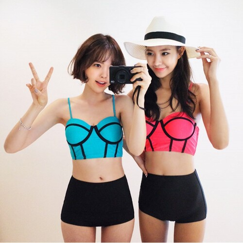 Korean fashion: Maillot de bain