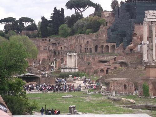 Voyage en Italie, le Forum