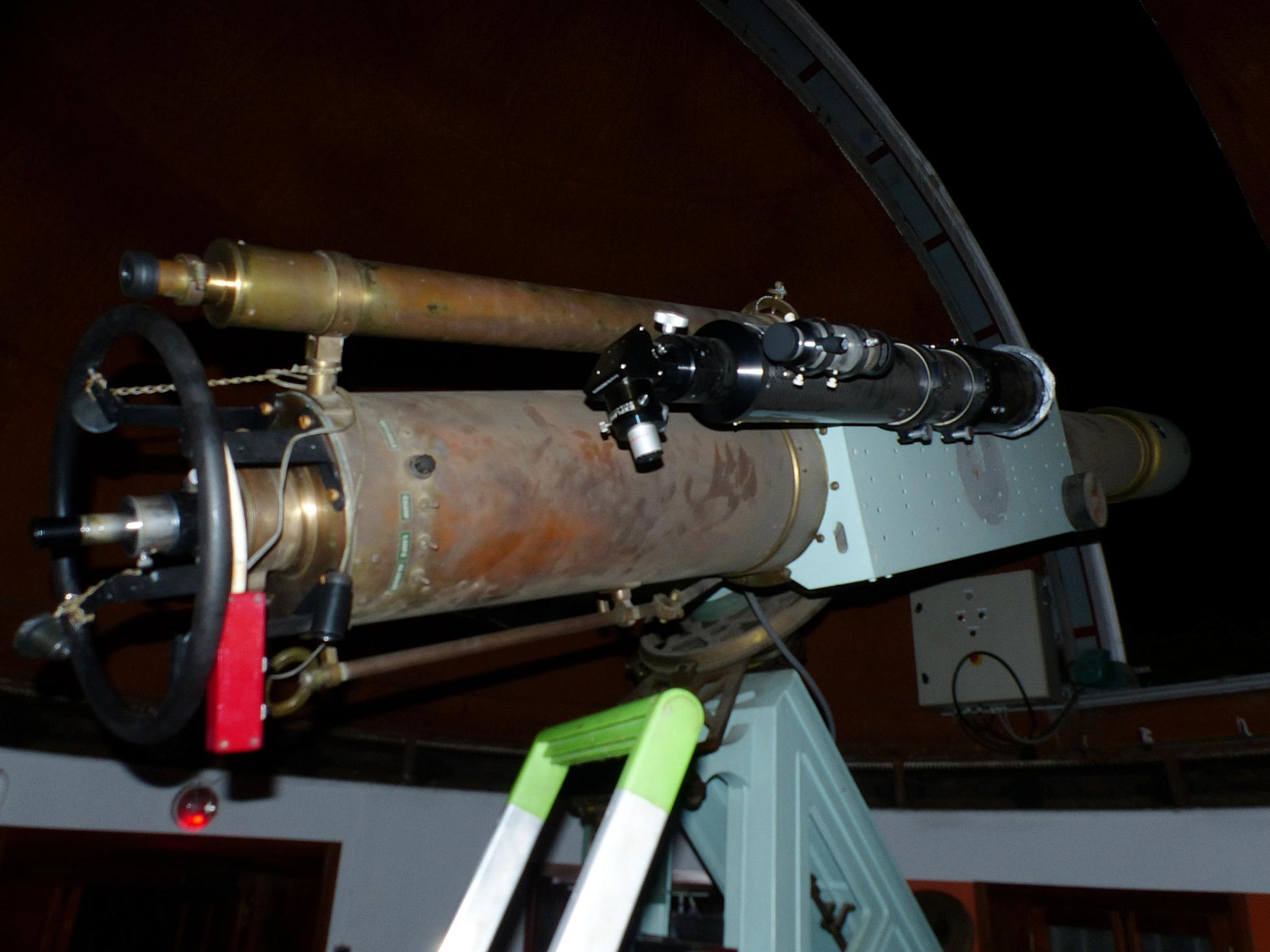 lunette de 250 mm de l'observatoire de Marseille