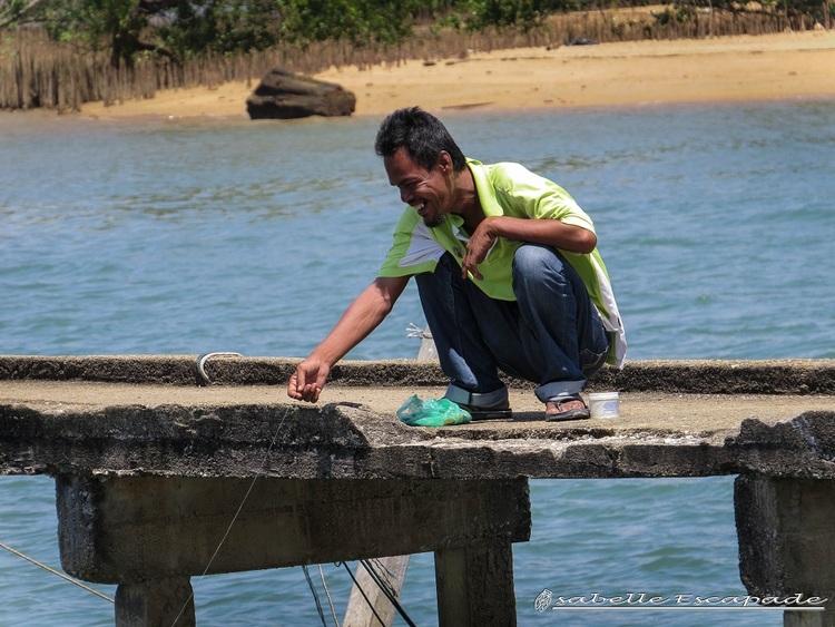 16 Juillet - Sur l'île de Duyong il fait bon vivre...