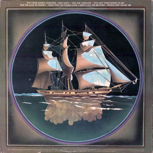 "1973 : The O'Jays : Album "" Ship Ahoy "" Philadelphia International Records KZ 32408 [ US ]"