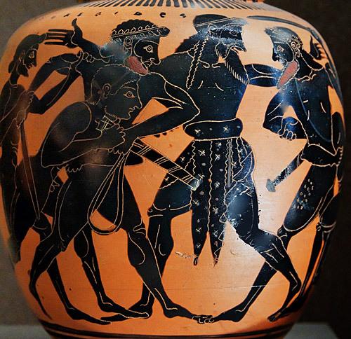 Dispute d'Ulysse et Ajax
