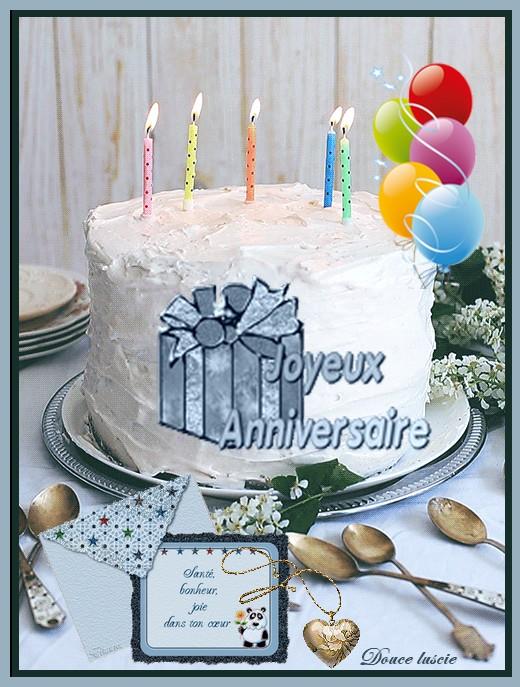 Joyeux anniversaire ..Servez vous