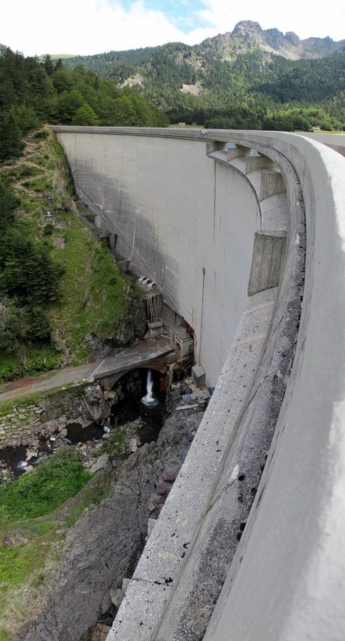 Barrage du lac