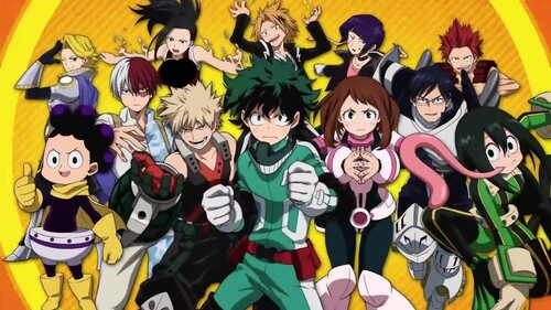 [POST8] Ajout de My Hero Academia!