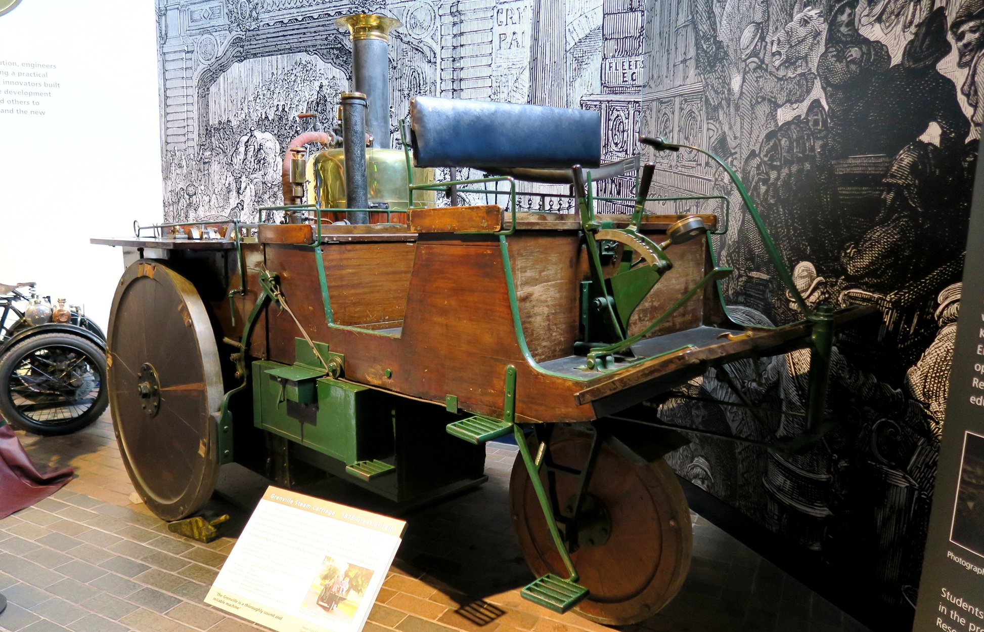 "Beaulieu : LA ""Grenville Steam Carriage"", de 1829"