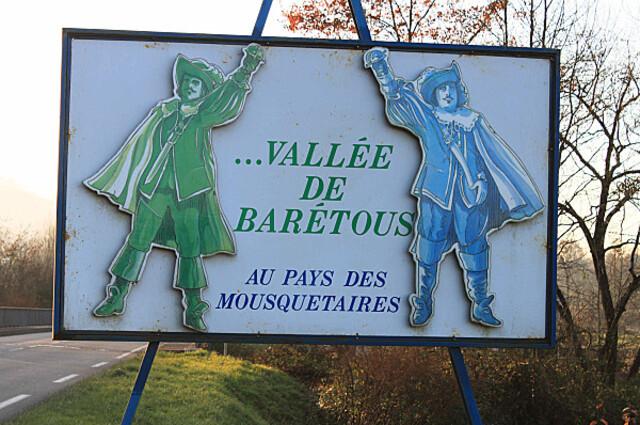 La vallée de Barétous, c'est la vallée des Mousquetaires béarn