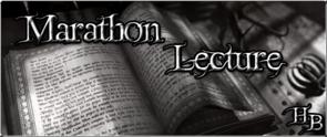 Marathon lecture