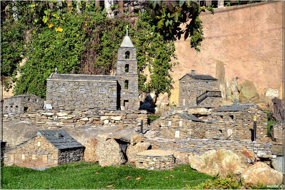 Village miniature de Ponte-Novu