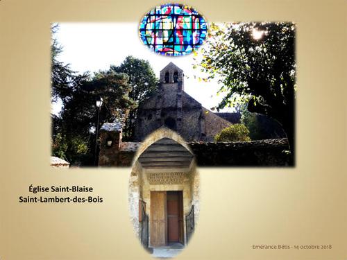 Eglise Saint-Blaise à Saint-Lambert-des-Bois