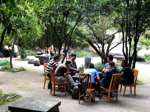 pavillon de la splendeur suprème près de Kunming