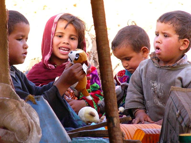 Thé chez les nomades